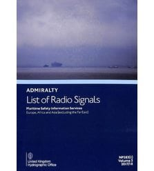 Admiralty List of Radio Signals. NP283(1), Edition 2017/18