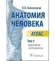 Анатомия человека : атлас : в 3 т. Т. 3. Неврология, эстезиология