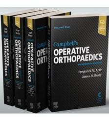 Campbell's Operative Orthopaedics 4-Volume Set