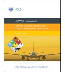 ICAO 9284 Supplement to Technical Instructions: 2019-2020