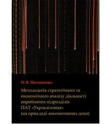 Методологія стратегічного та економічного аналізу діяльності виробничих підрозділів П..