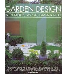 Garden Design with Stone, Wood, Glass & Steel
