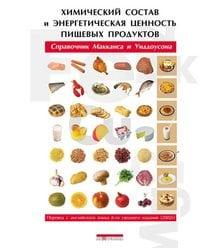 Химический состав и энергетическая ценность пищевых продуктов. Справочник М..