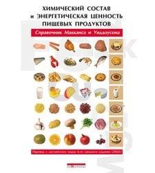 Химический состав и энергетическая ценность пищевых продуктов. Справочник Макканса и Уиддоусона