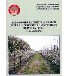 Формування та обрізування крон дерев в інтенсивних насадженнях яблуні і груші