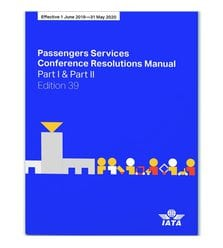 Passenger Services Conference Resolutions Manual, 39 edition