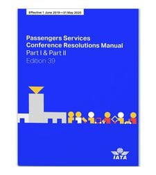 Passenger Services Conference Resolutions Manual, 38 edition, 2018/19